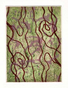SPRING 3, multi-plate etching, BFK Rives 280gsm, 14 x 10cm, edition 6, 2007