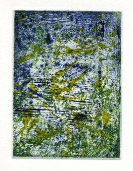 SUMMER 2, multi-plate etching, BFK Rives 280gsm, 14 x 10cm, edition 6, 2007