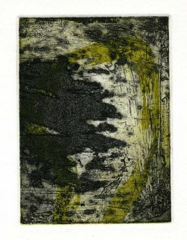 SUMMER 3, multi-plate etching, BFK Rives 280gsm, 14 x 10cm, edition 6, 2007