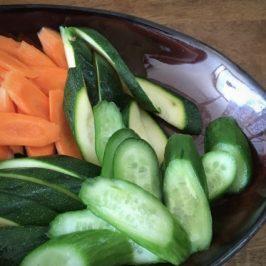 Japanese Super Food : Nukazuke (Japanese pickles)